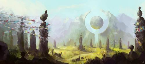 Disc Mountain by JulianF