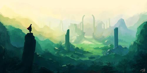 Broken Pillars by JulianF