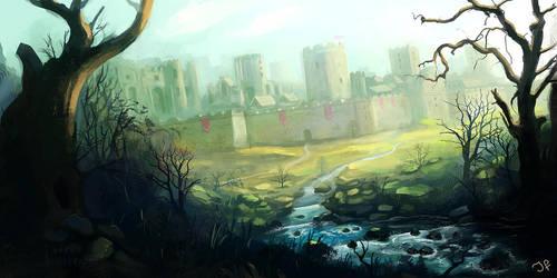 Castle River by JulianF