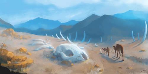 Desert Bones by JulianF