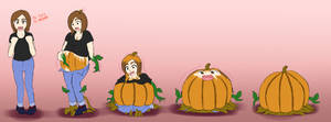 Pumpkin Transformation by JHcolley