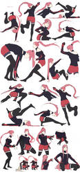 Movement character - Laurenki by Keelita