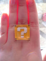 Nintendo Fan Art Super Mario Brothers Ring by skatemaster007