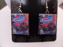 Little Big Planet Fan Art Earrings by skatemaster007