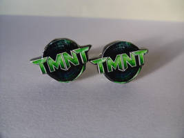 Fan Art Cufflinks TMNT Teenage Mutant Ninja Turtle by skatemaster007