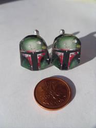 Fan Art Star Wars Boba Fett Cufflinks by skatemaster007