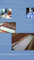 Sayaka Miki Cosplay Sword Tutorial- Part 1:Pattern by smcosplay98