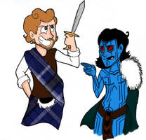 Embrace your Heritage Loki! by Doodlinjaz