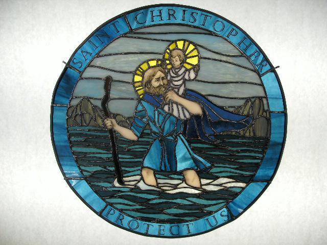 St. Christopher by AigneadhAigeann