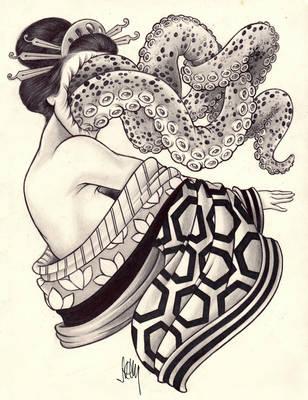 Traditional Japanese Geisha by OriginalNick