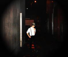 Dark Alleway 2 by Saki2