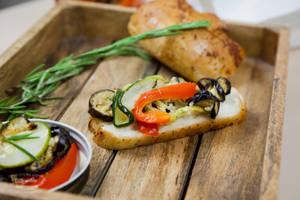 Appetizer of roasted vegetables_2 by KLutskaya