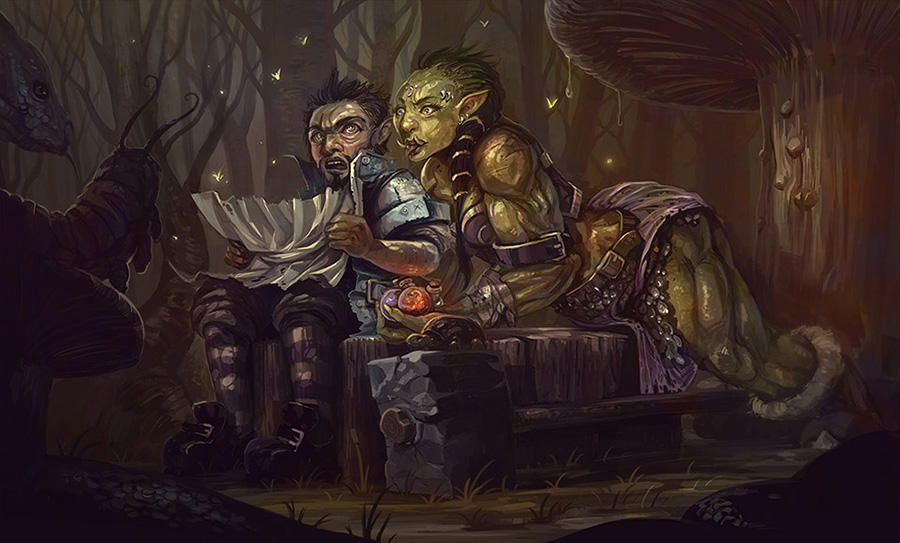 My New Web Comic: Orc and Gnome's Mild Adventures by irshadkarim
