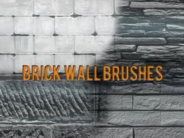 Brick Wall Brushes by xara24