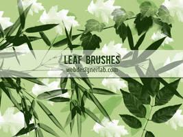 Free Leaf Brushes by xara24