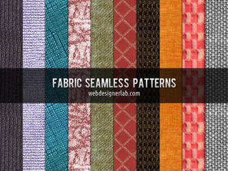 Fabric Seamless Patterns by xara24