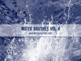 Water Brushes Vol. 4 by xara24