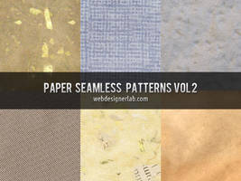 Paper Seamless Patterns Vol. 2 by xara24