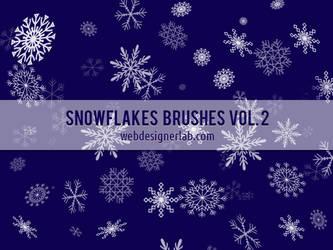 Snowflake Brushes by xara24