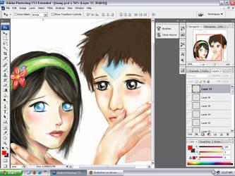 Taang Work in Progress by SindeeDee