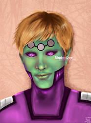 Gift for Martina: Brainiac 5 by SindeeDee