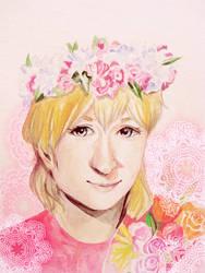 Flower King by SindeeDee