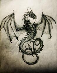 Dragon by LimonTea