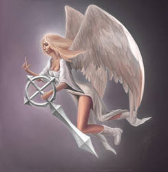Angel by LimonTea