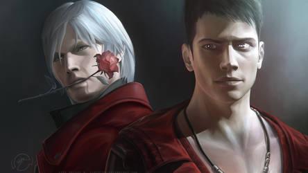 Dante And Dante wallpaper by LimonTea
