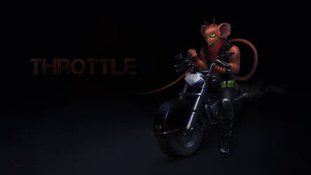 Throttle - Biker Mice from Mars by LimonTea