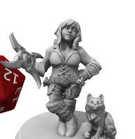 Kali Talitha Demeek the Master Thief by dragona-star08