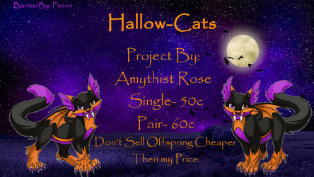 Hallow-Cats by dragona-star08