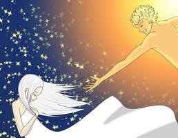 Forbidden Love: Sun and Moon by chuibar