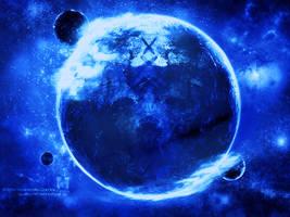 Blue Earth by Nu-xArt
