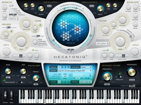 VST GUI for Hexatoniq by lakmus