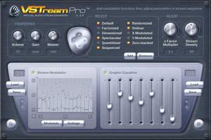 VSTream Pro plugin GUI by lakmus