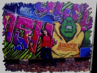 Grafitty Girl by GiuliaBlackAngel