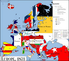 Europe 1871 by Creedos