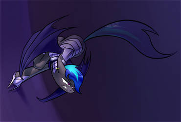 Bat Pony by Underpable