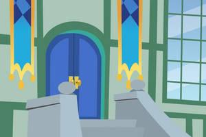 Simple Doorway Background by DaringDashie