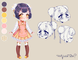 .:C:. Miyoko Reference Sheet 1 by WhereIsMyHeartsBeat