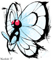 Butterfree by FrozenQuills