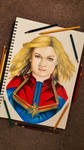 Captain Marvel by minidynz