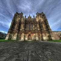 Wells Cathederal by wreck-photography