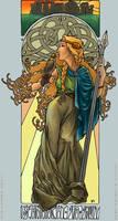 Boudica - AdAbsurdum by BlueBumbleBee