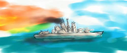 Battleship by wtigga