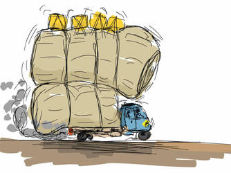 Freight transport in China by wtigga