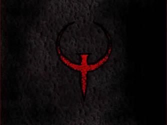 QUAKE -red logo- by DDRrez