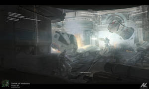 Combat suit rendezvous by adamkuczek