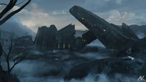 Alien construct by adamkuczek
